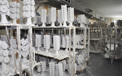 Wax investment casting india