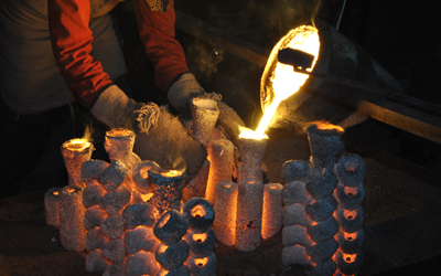Wax investment casting